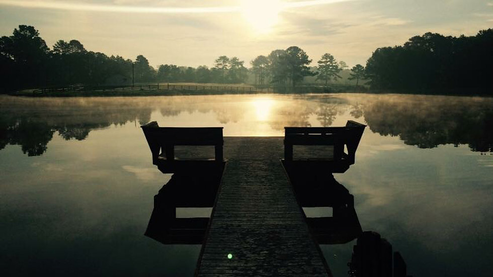 Sunrise Reflection Farm NC
