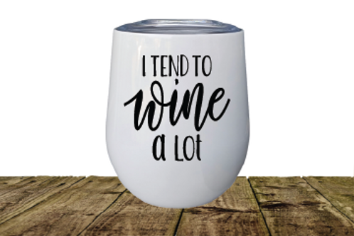 INSULATED STEM LESS WINE GLASS/ I TEND
