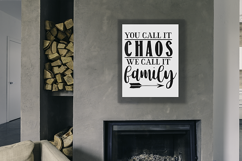 LIVING /FAMILY ROOM WALL DECOR... OUR FAMILY