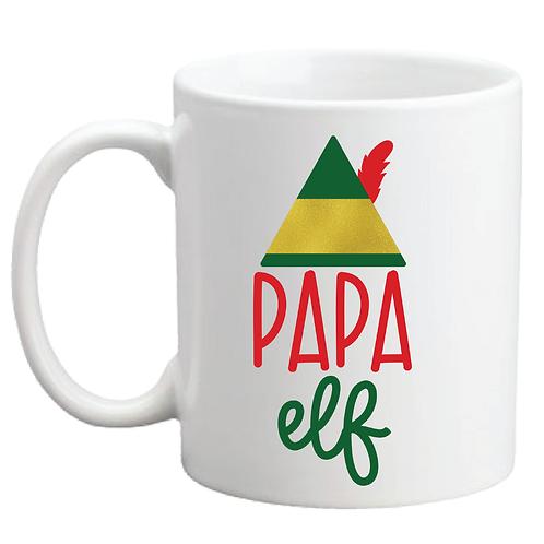 PAPA ELF AND MAMA ELF COFFEE MUG