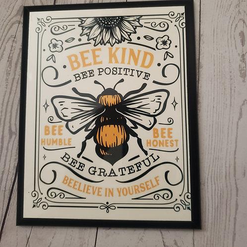 BEE KIND BEE POSITIVE