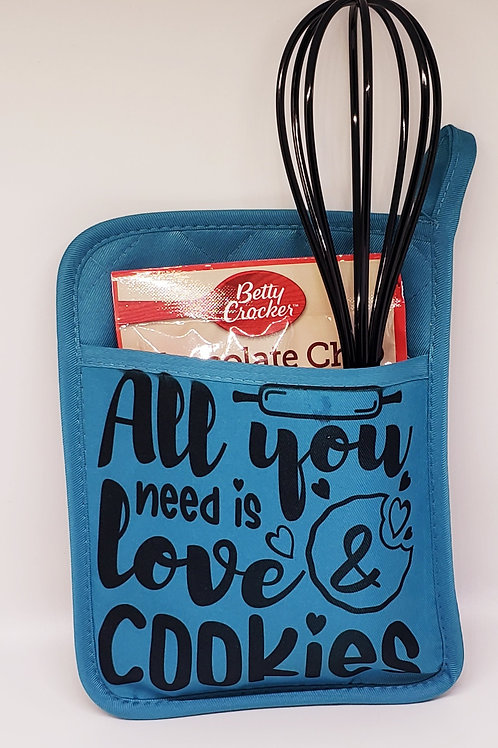 POT HOLDER ALL YOU NEED IS