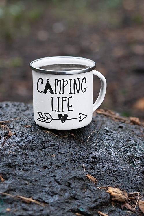 CAMPING LIFE-CAMP COFFEE MUG