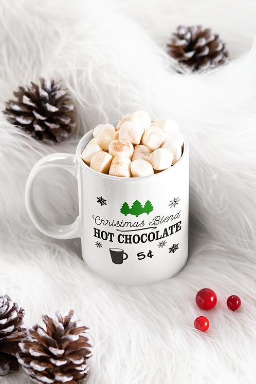CHRISTMAS BLEND HOT CHOCOLATE MUG