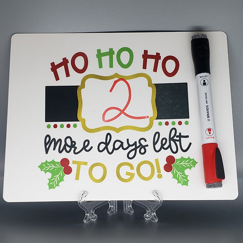 COUNT DOWN THE DAYS TO CHRISTMAS