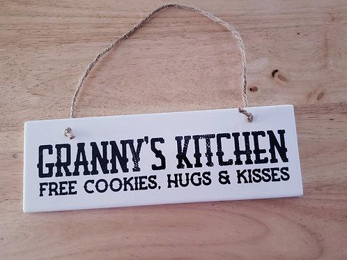 GRANNY'S KITCHEN |WALL DECOR