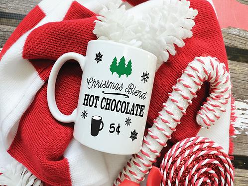 CHRISTMAS HOT COCOA/COFFEE MUG