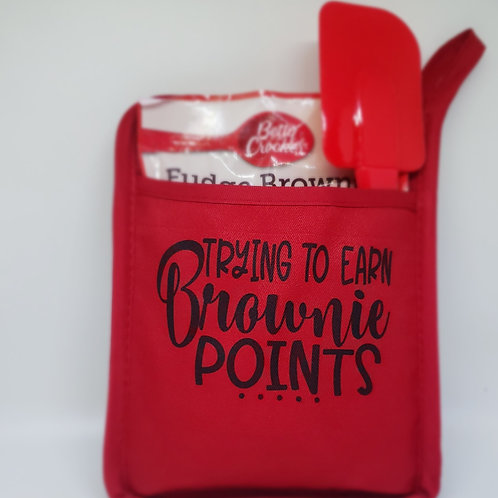BROWNIE POINTS -POT HOLDER