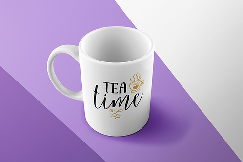 TEA TIME TEA CUP/COFFEE MUG