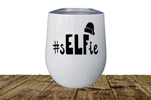 #sELFie  INSULATED WINE TUMBLER