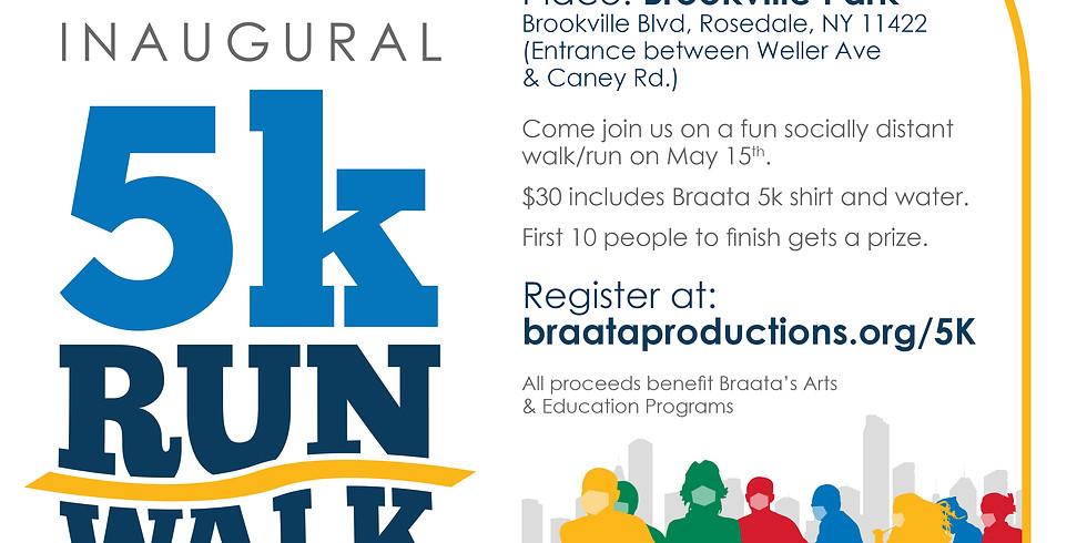 Braata Inaugural 5K Run/Walk