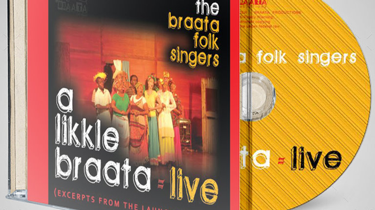 A Likkle Braata Live CD