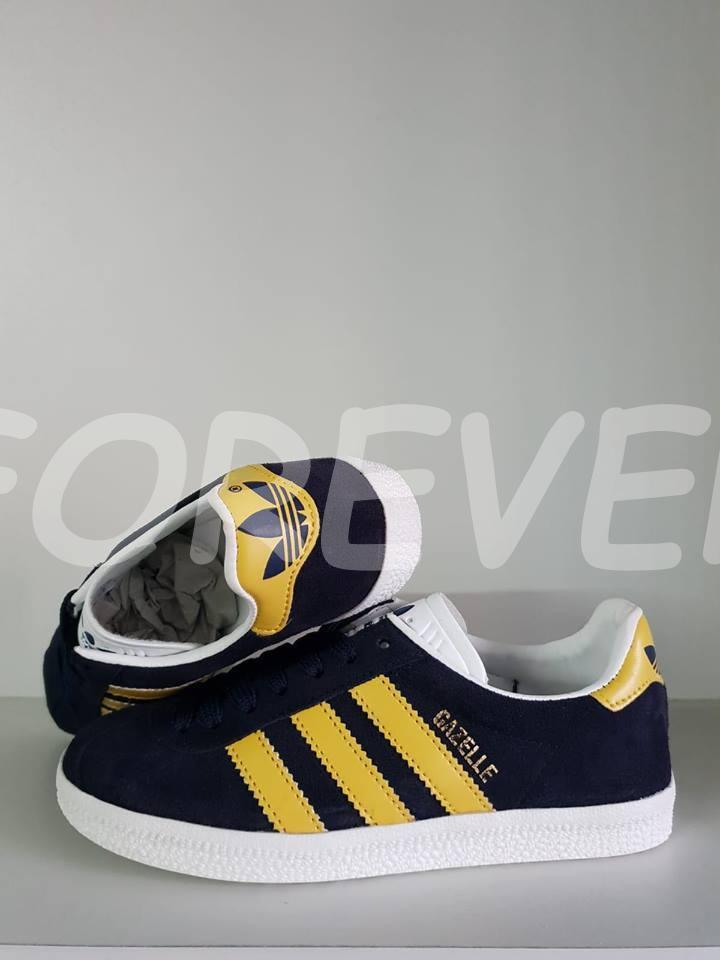 where can i buy cheapest price buy sale Adidas Gazelle Azul Marinho Amarelo.jpg