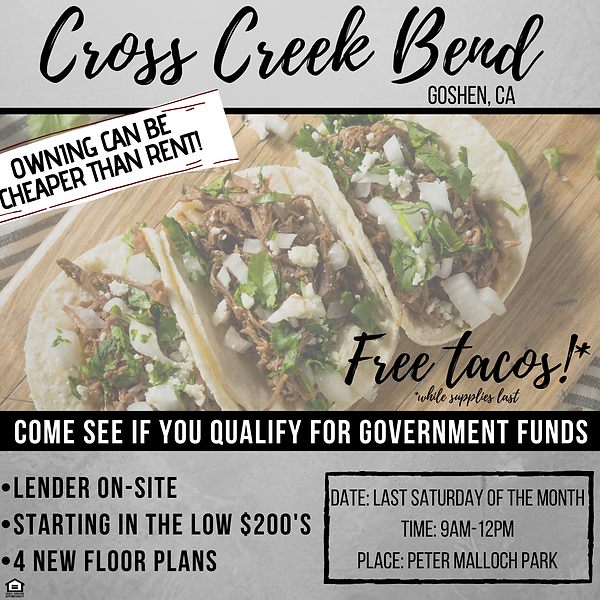CCB Taco Event Social Graphic with Info.