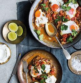 Shakshuka tomato curry