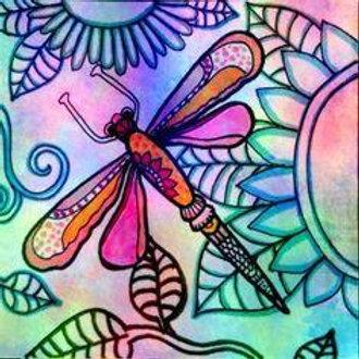 Pastel Dragonfly