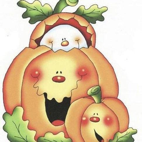 Smiley Face Pumpkins