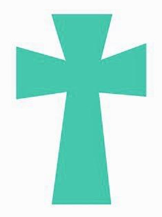 Teal Cross