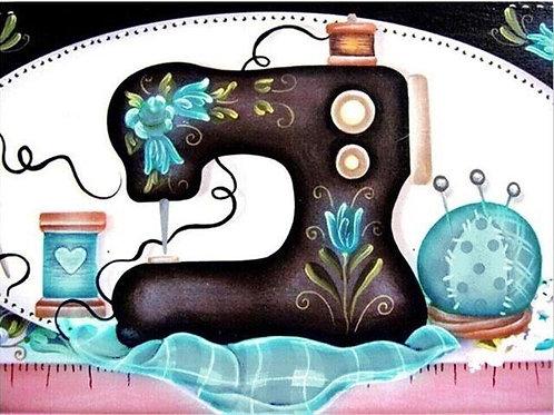 Sewing Machine Teal