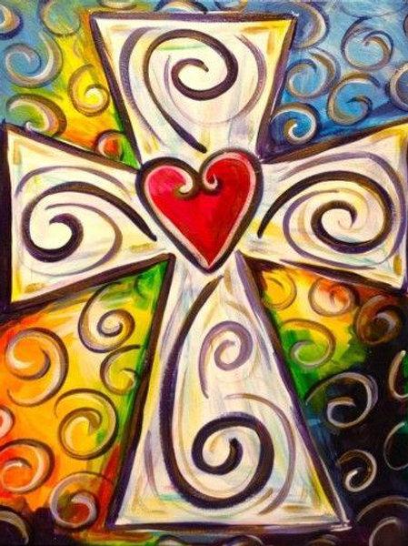 Colorful Cross