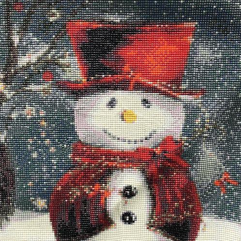Snow Man Red Hat