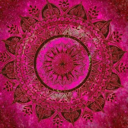 Mandala Red/Pink