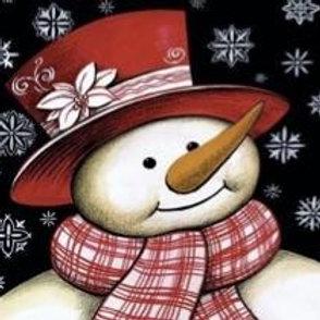Snow Man Snow Flake