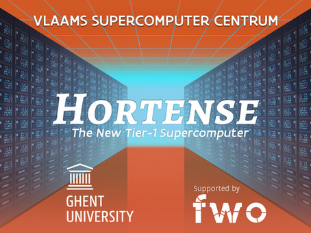 """""""Hortense"""" is our new Supercomputer!"""