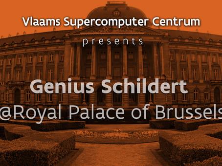 Genius Schildert @ Royal Palace of Brussels