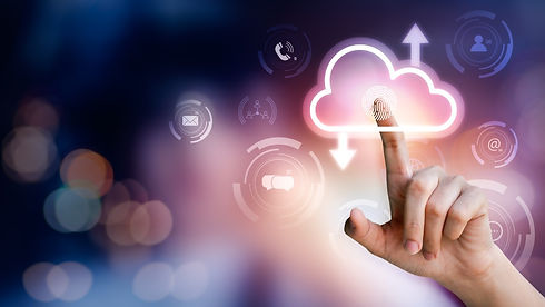 computing-network-connecting-data-information-on-network-technology-and-sign-of-cloud-stor