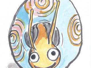 "YUKABON 5minutes drawing ""yukabon's correction Snail toy"""