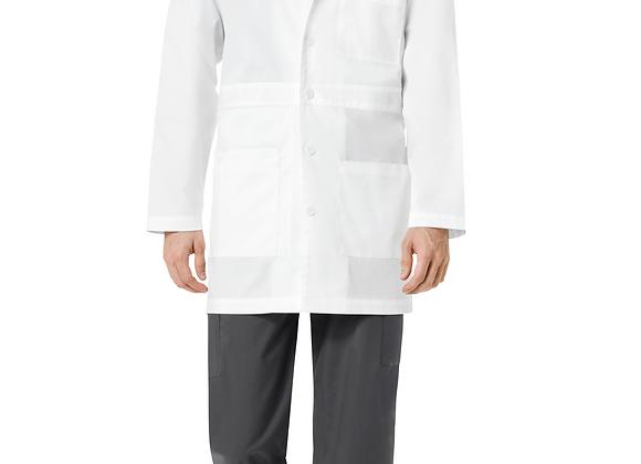 Men's Basic Lab Coat-WKS703