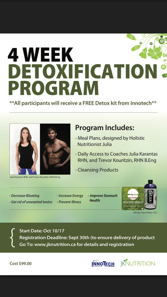 Feeling Tired? It's time to Cleanse! *FREE OFFER*