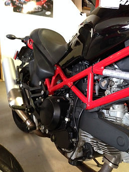 2007 Ducati M695 right