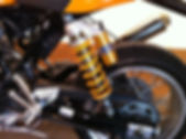 Bruce's Ducati Sport 1000 rear suspension