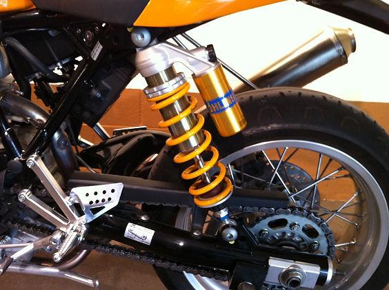 Bruce's Ducati Sport 1000 rear suspension