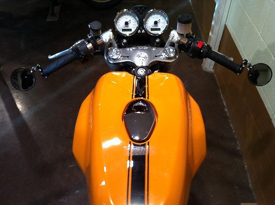 Bruce's Ducati Sport 1000 cockpit