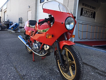 1985 Ducati MHR Mille front