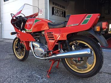 1985 Ducati MHR Mille left