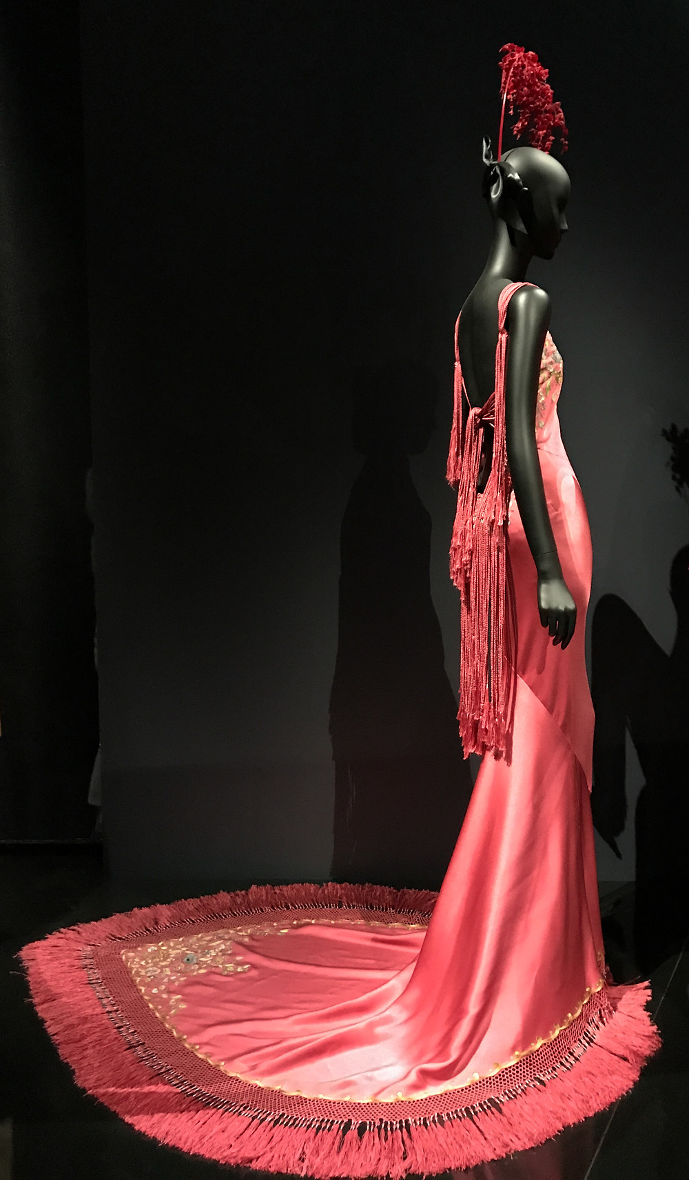 Photo from the Dior exhibition