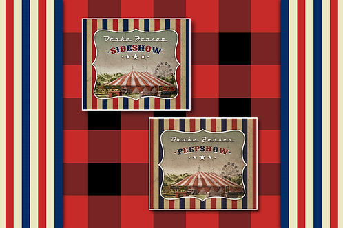 "Drake Jensen ""Sideshow"" CD and ""Peepshow"" DVD Combo Pack - GREAT DEAL!"