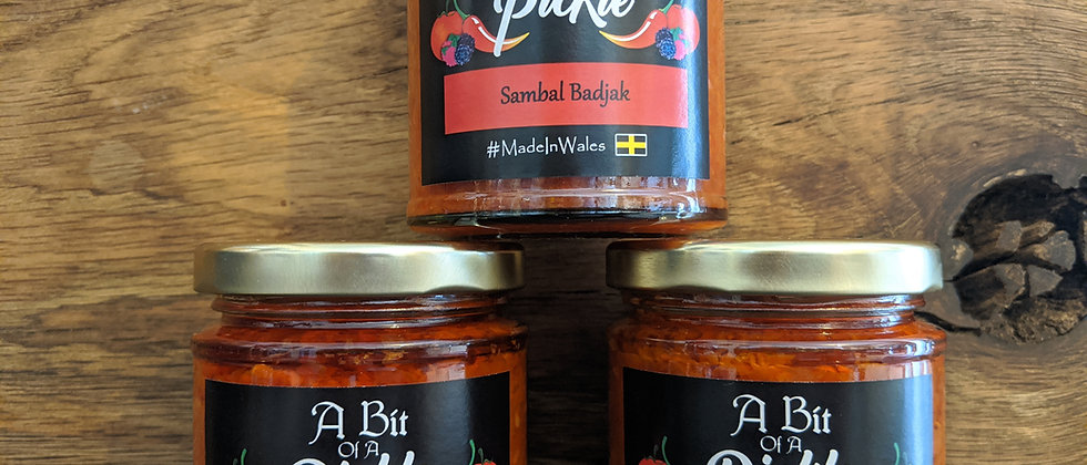 A Bit of a Pickle Sambal Badjak