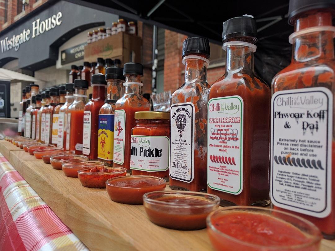 ChilliOTV sauces lineup