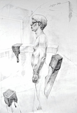Self-Portrait with Posture Issues