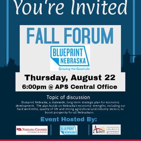 Nebraska Fall Forum is Happening in Auburn
