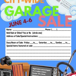 2021 City Wide Garage Sales