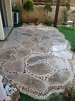 אבנים למדרך, ריצוף שבילים בגינה