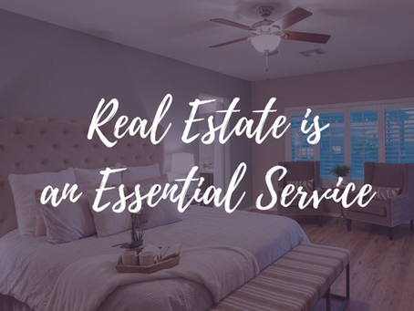 Real Estate is an Essential Service - By Jenn Jenkins
