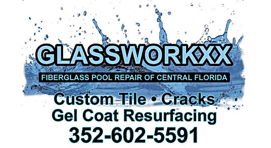 Glassworkxx logo with phone number and email