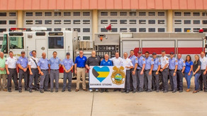 Temple Terrace Donates Fire Truck To Ravaged Station In Bahamas